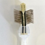 ActiVet Brush Soft (gold Flitter)